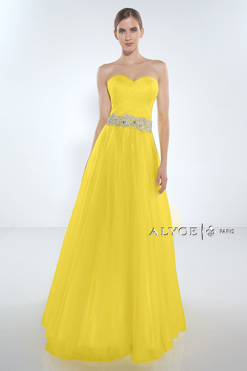 Alyce Paris Exclusive 1005 Yellow