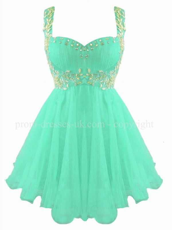 White Chiffon Prom Dresses 68