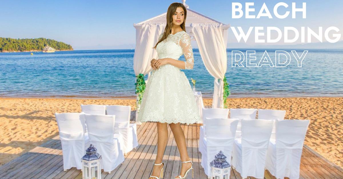 Veronica Cream 1950s Wedding Tea Dress | 50s Style Wedding Dresses ...