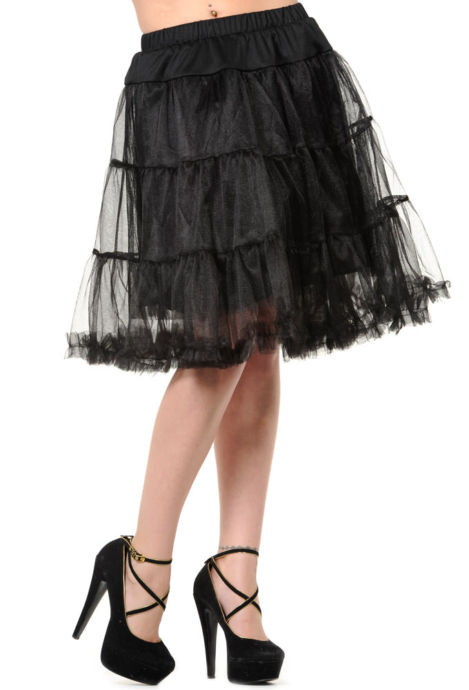 Banned By Dancing Days Black Petticoat
