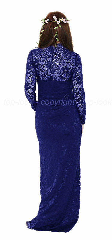 Enlarge Blue Lace Dress