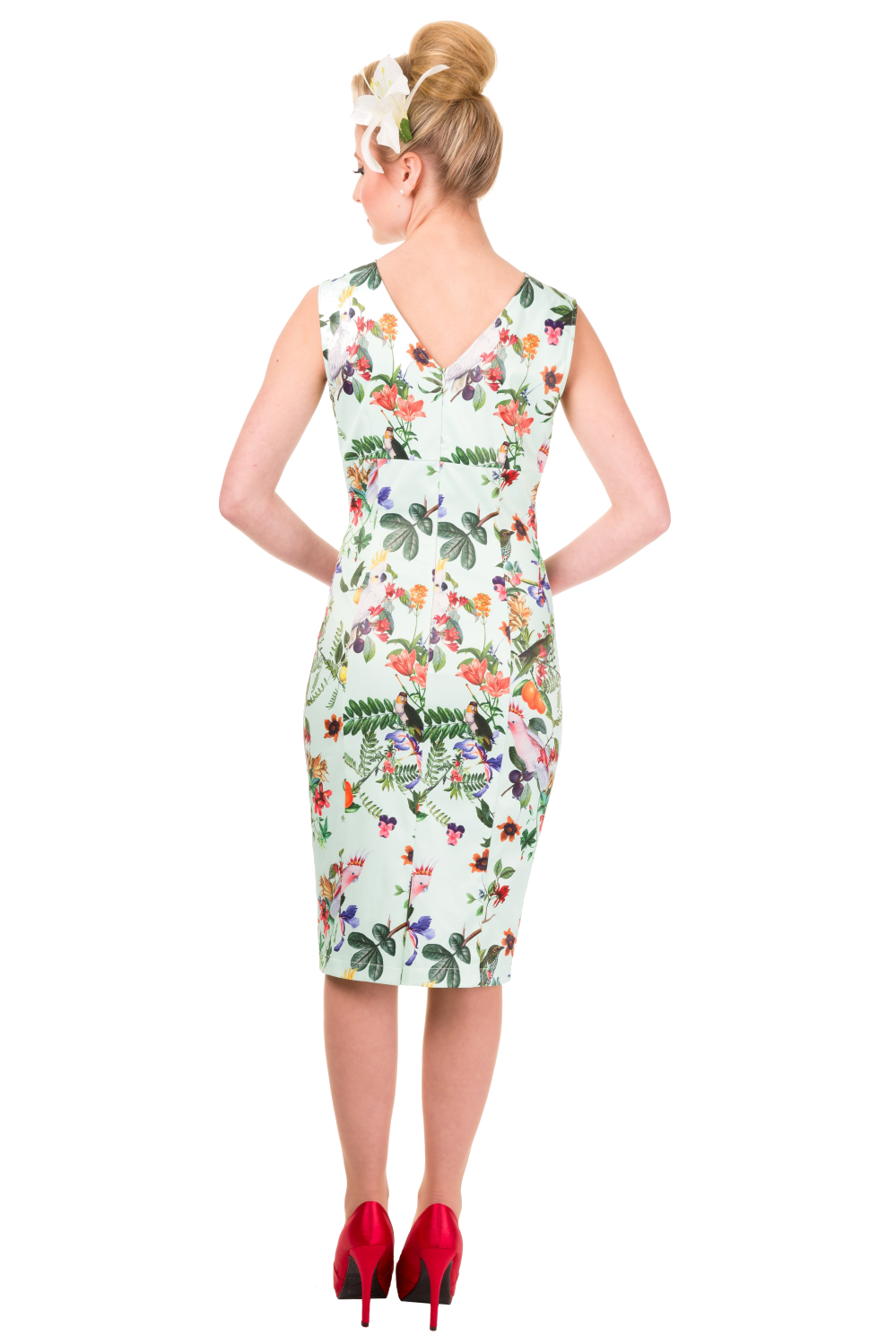 Banned Clothing Apparel Bye Bye Floral Dress