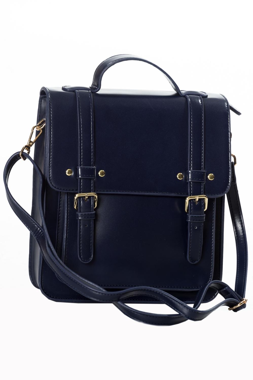 Banned Retro 60s Cohen Midnight Blue Handbag