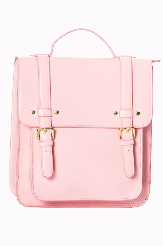 Banned Retro 60s Cohen Baby Pink Handbag