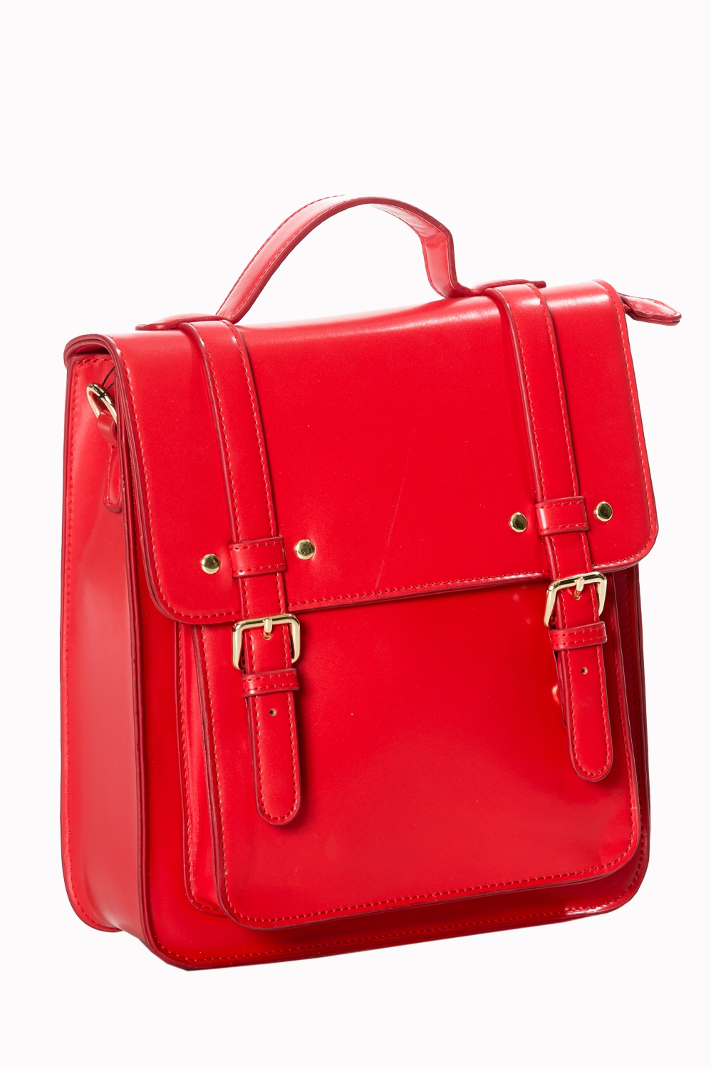 Banned Retro 60s Cohen Red Handbag