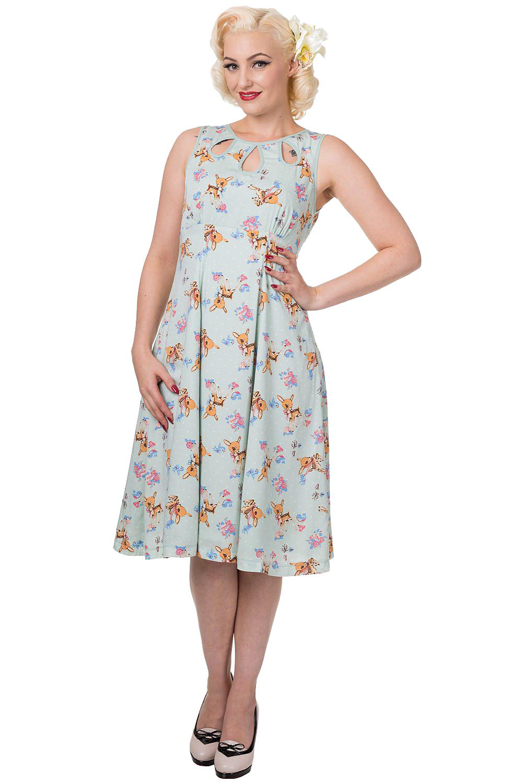 Banned Whimsical Bambi Dress | 40s Retro Disney Inspired Dress ...