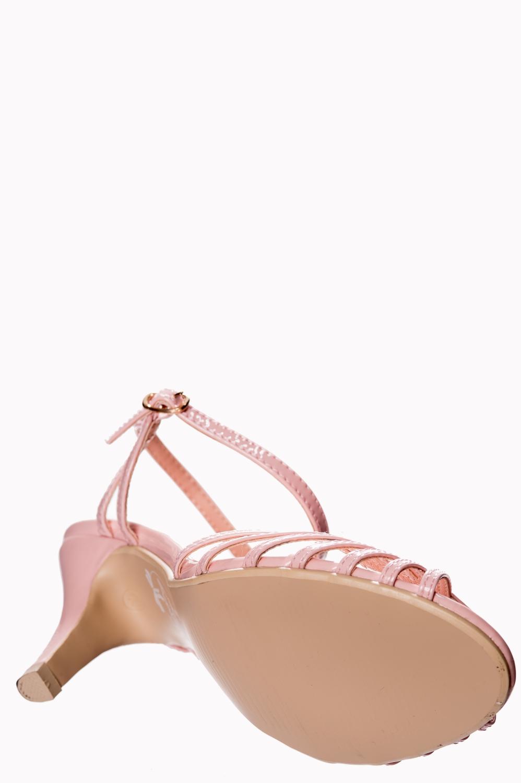 Banned Retro Dusky Pink Amelia Sandals