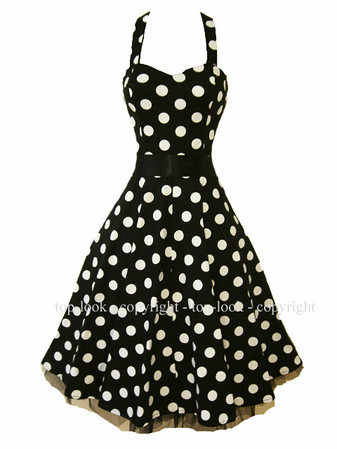 The sizes of the polka dots vary from dress to dress, too. Take it a step further with modern details including the cold-shoulders, cutouts, bell sleeves and more. How to Accessorize a Polka Dot Dress.