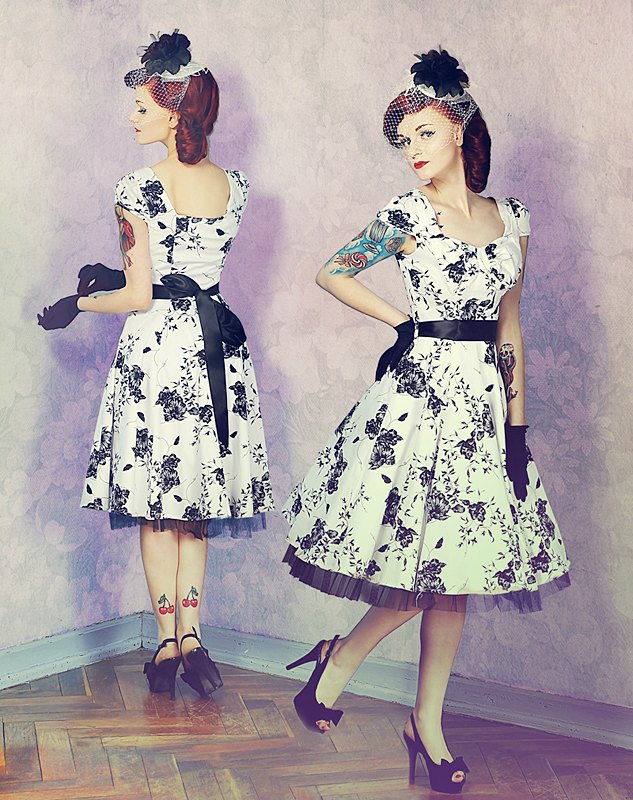 Hearts and Roses Dresses