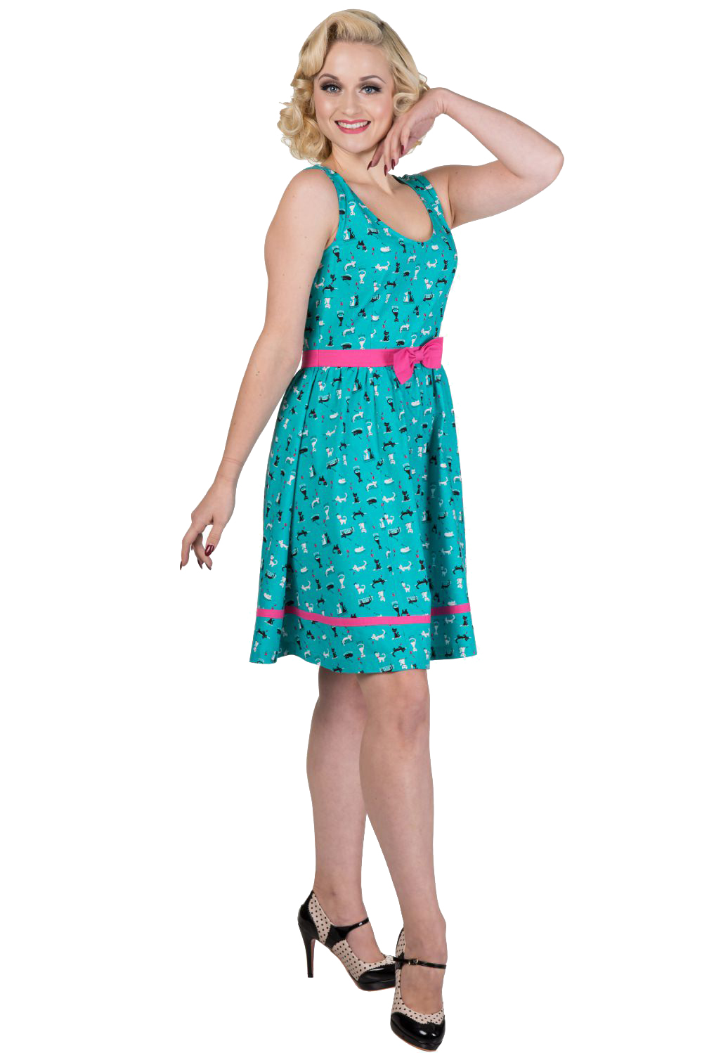 Dancing Days By Banned Bright Lights Dress