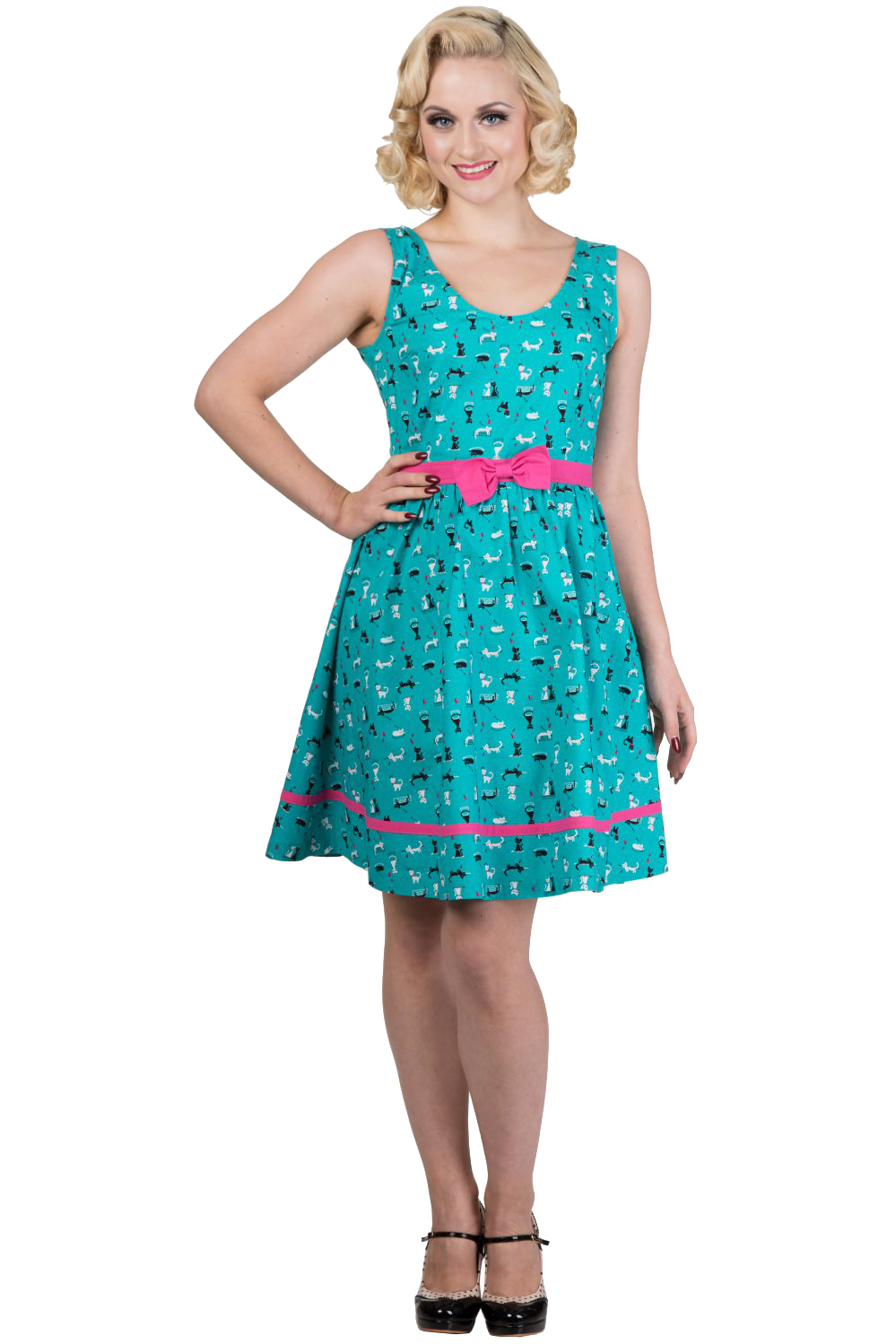 Banned bright lights dress holiday frocks plus sizes available