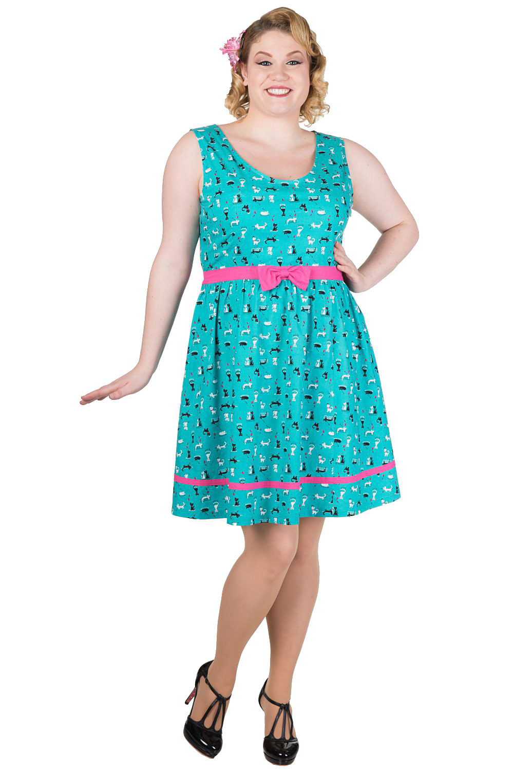 Dancing Days By Banned Bright Lights Plus Size Dress