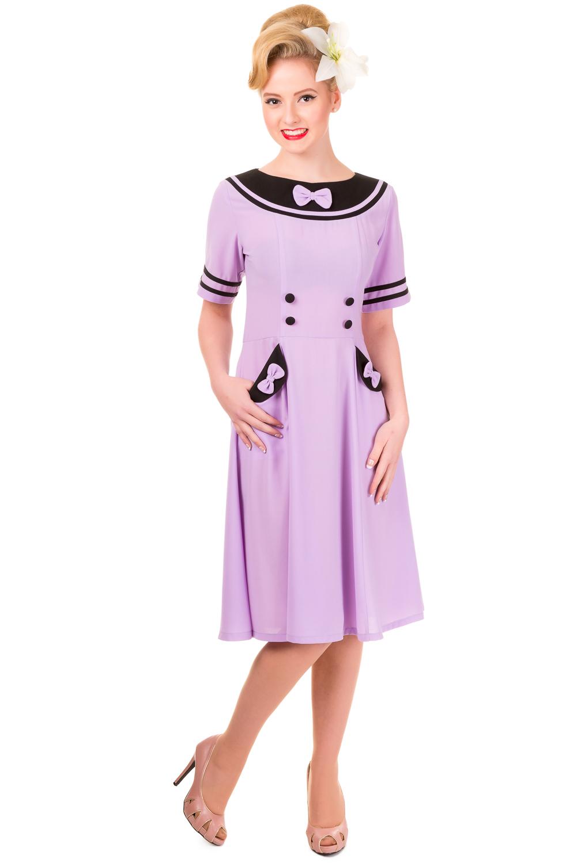 Banned Eliza Lavender Dress