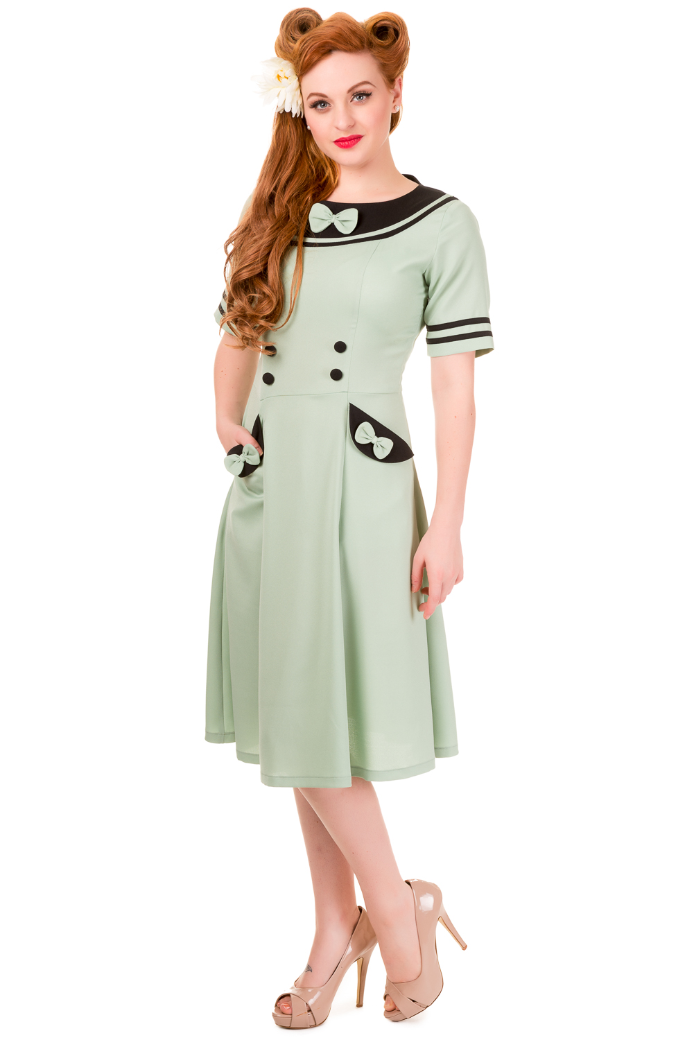 Banned Eliza Mint Rockabilly Dress