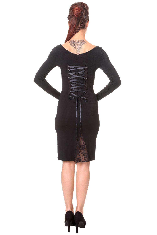 Banned Midi Gothic Dress