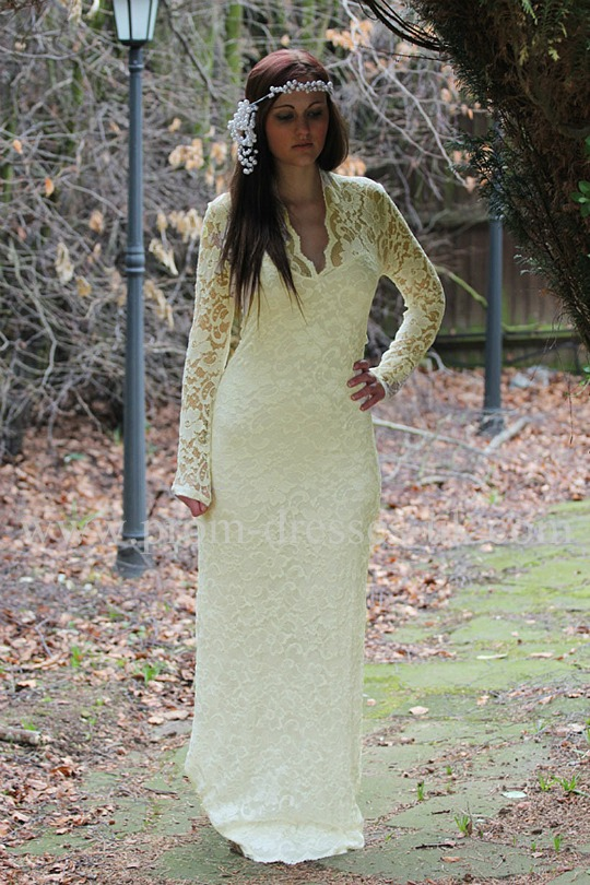 Enlarge John Zack Wedding Dress