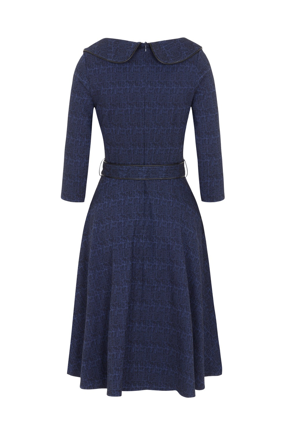 Voodoo Vixen Lilly 40s Blue Swing Dress