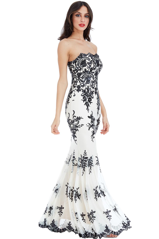 Vintage 1930s Loretta Maxi Fishtail Prom Dress