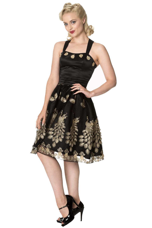 Dancing Days Moonlight Escape Black Prom Dress
