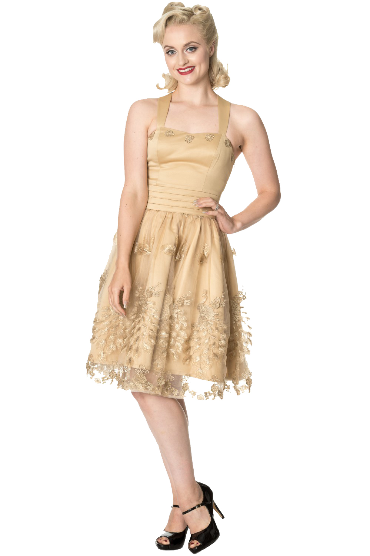 Dancing Days Moonlight Escape Gold Prom Dress