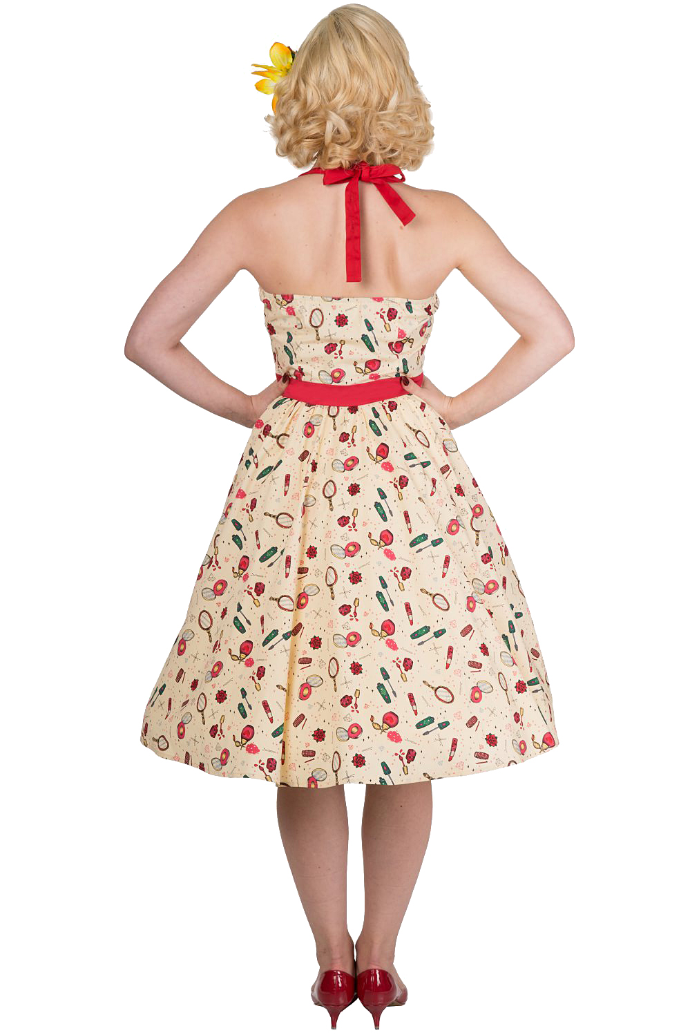 Banned New Romantics Dress With Petticoat