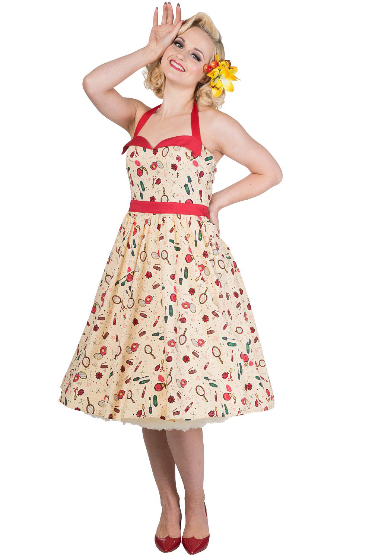 Banned New Romantics Dress With Petticoat