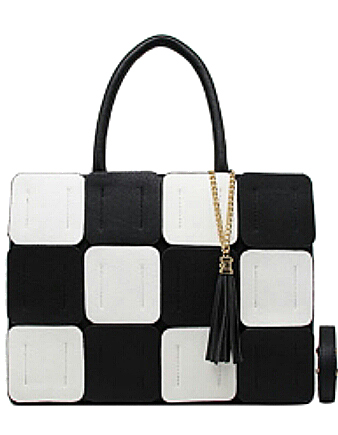 Panache Boutique Esme Monochrome Handbag