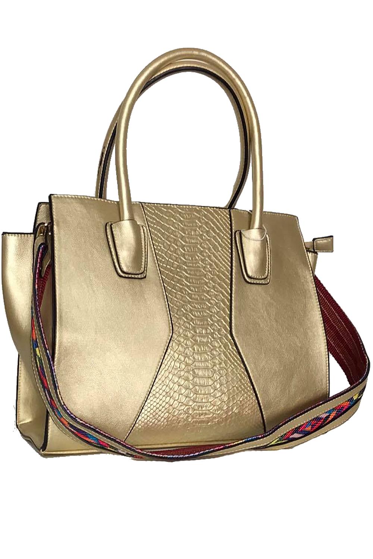 Panache Boutique Dover Sophia Gold Handbag