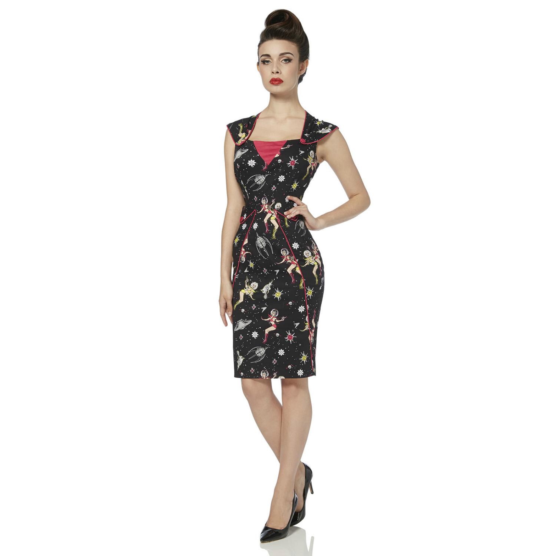 Voodoo Vixen Zara Space Dress