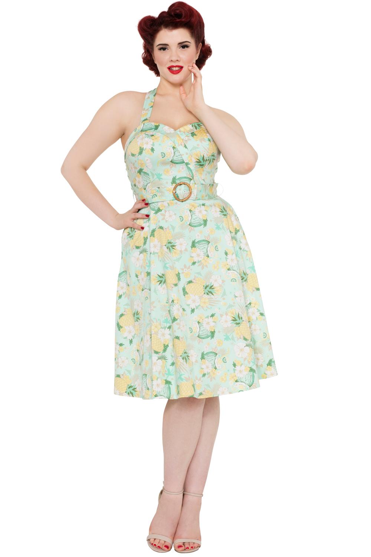 Voodoo Vixen Pineapple Dress | Voodoo Vixen Layla Summer Holiday Dress