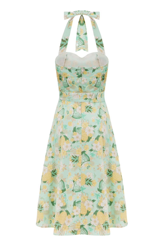 Voodoo Vixen Pineapple Vintage Dress
