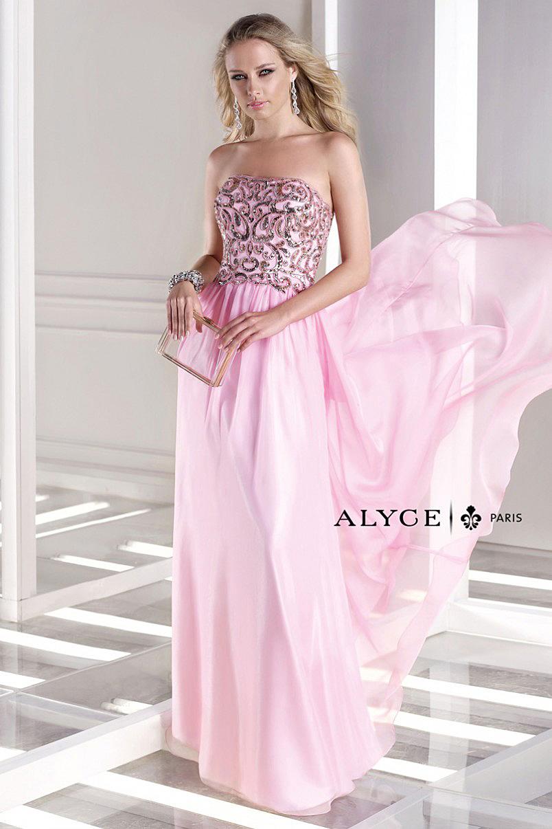 Alyce Paris Pink Dress 35681