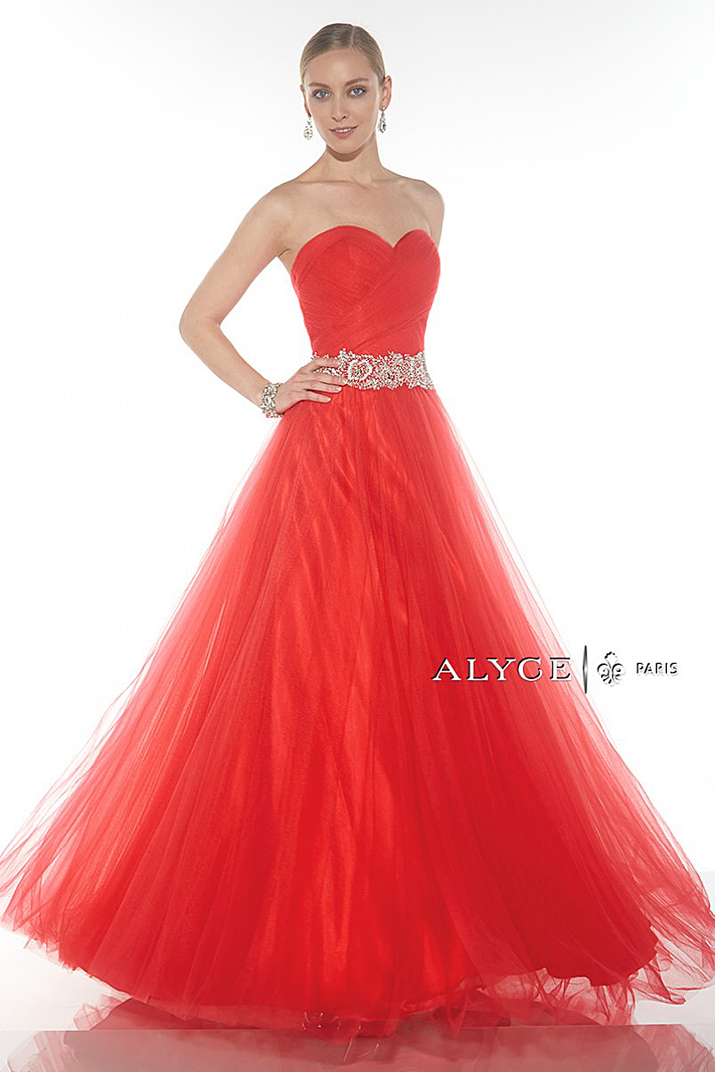 Alyce Paris Exclusive Collection 1005 - Red