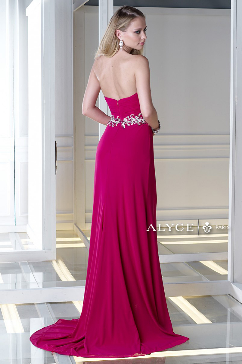 Enlarge Alyce Paris Raspberry Dress 35691