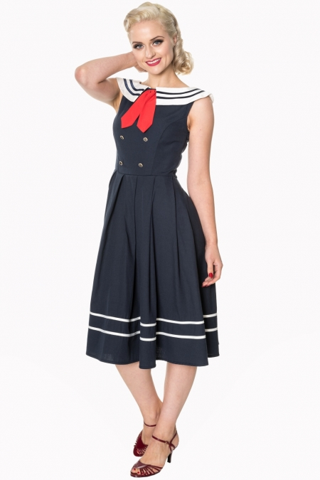 Dancing Days Aquarius 50s Sailor Dress