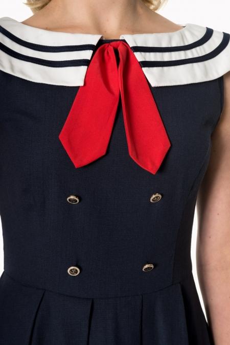 Dancing Days Aquarius 50s Sailor Dress