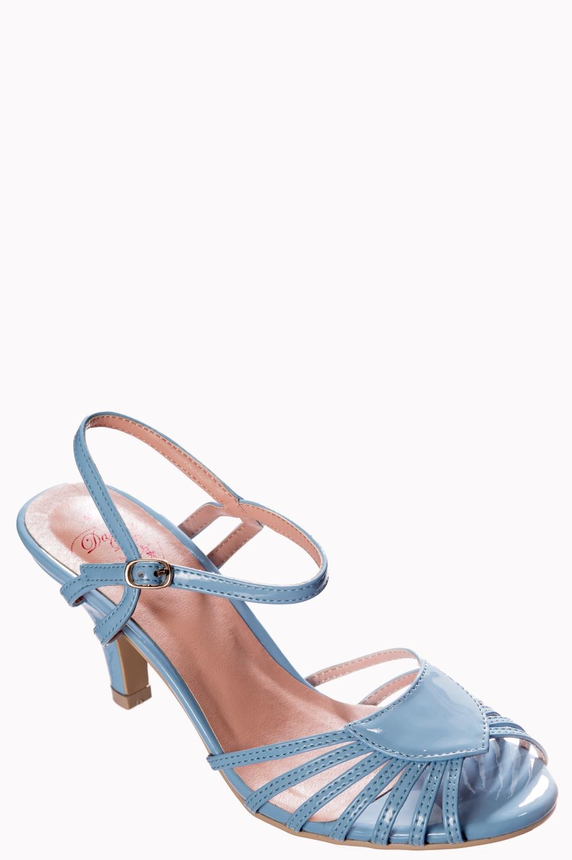 Banned Retro Baby Blue Amelia Sandals