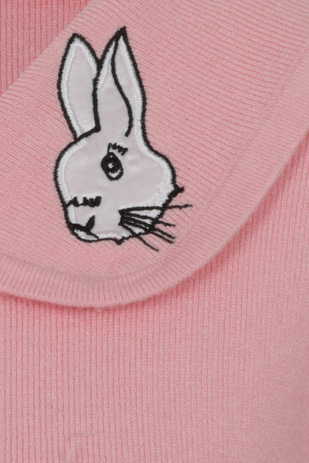 Banned Bunny Hop Knit Cardigan In Blush Pink