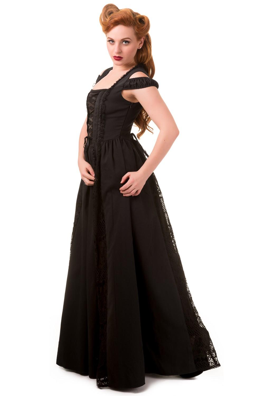 Banned Daysleeper Gothic Maxi Dress