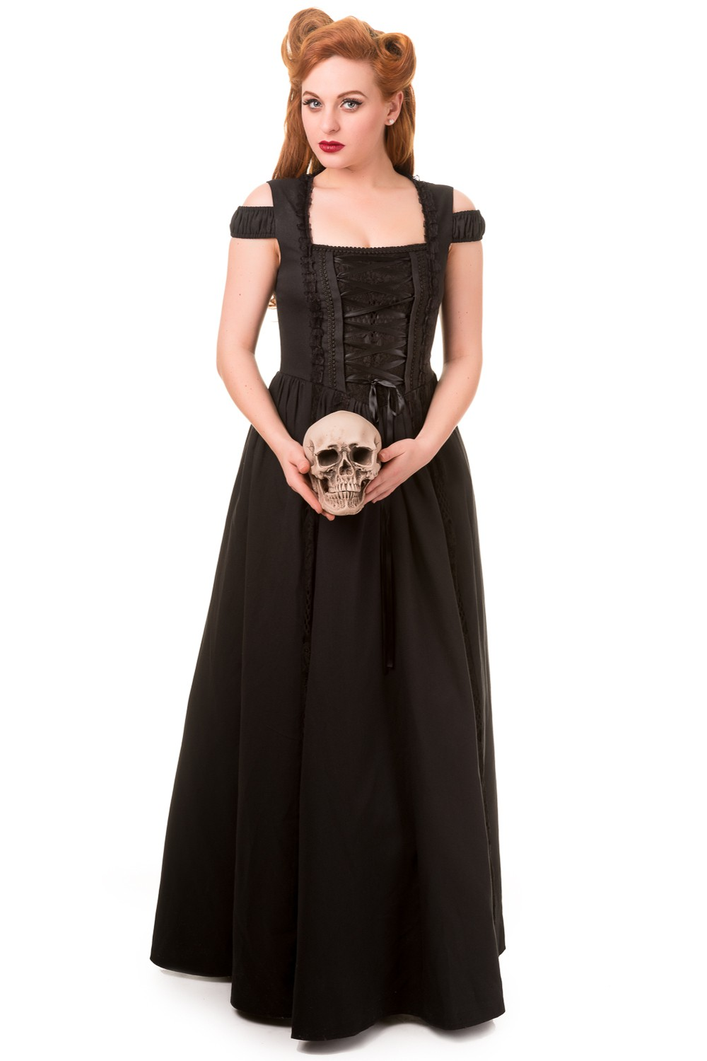 Banned Daysleeper Gothic Maxi Prom Dress
