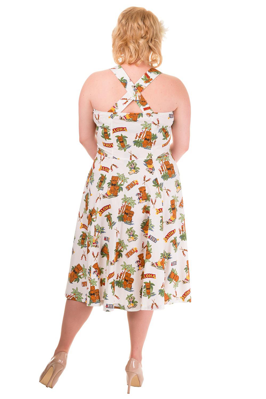 Banned Plus Size Tiki Dreamer Dress