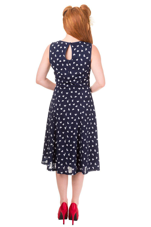 Songbird Navy Banned Dress