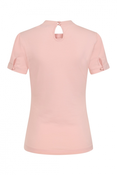 Banned Retro Sandy Loves Danny 50s Pink Top