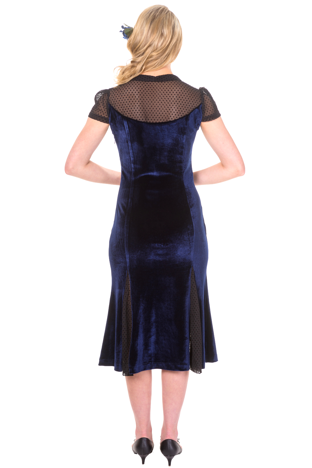 Banned Blue Sensation Midi Dress