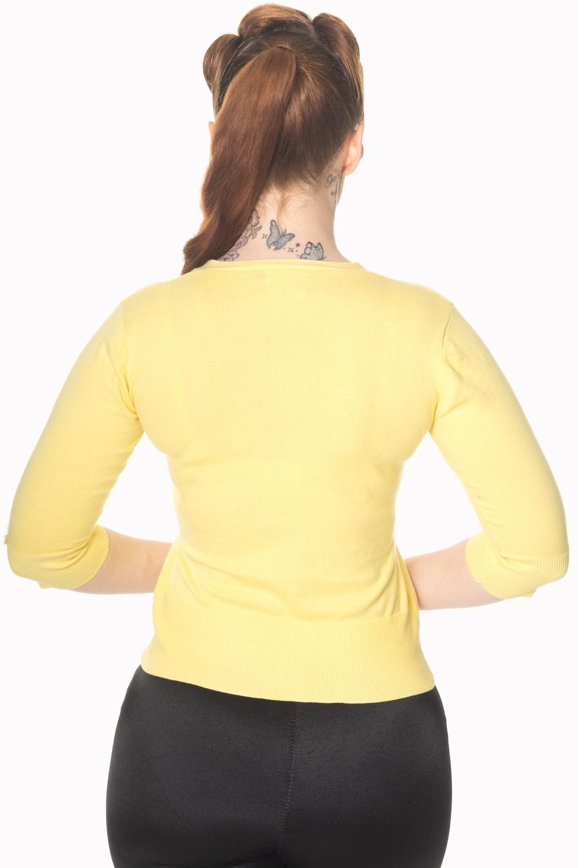 Banned Retro Yellow Bumble Bee Cardigan
