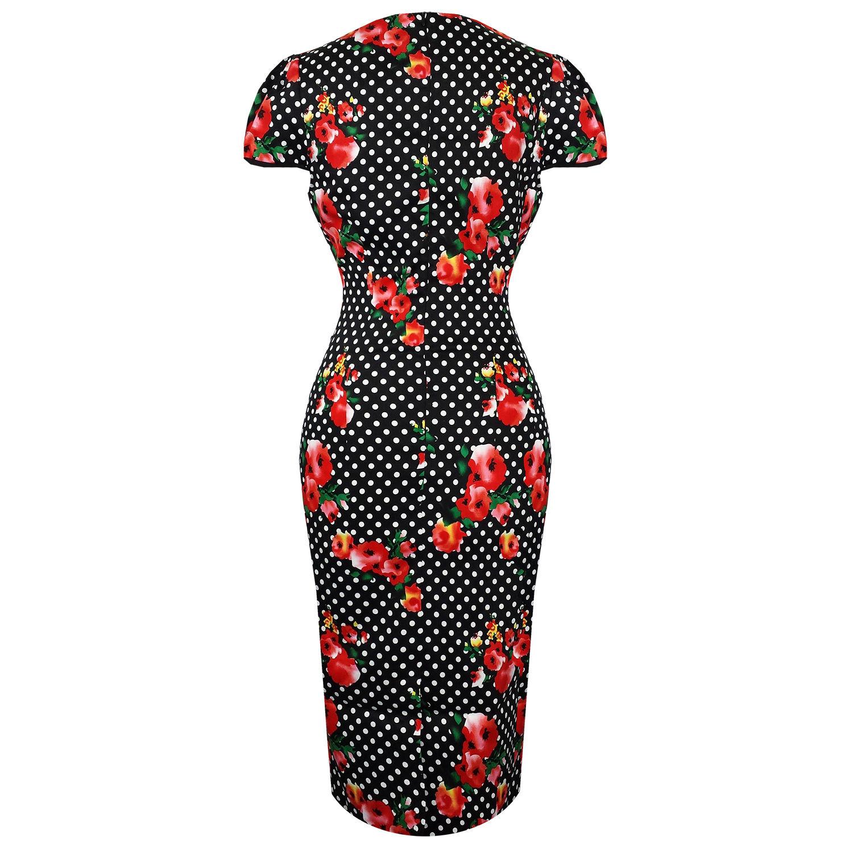 Voodoo Vixen Beverly Polka Dot Dress