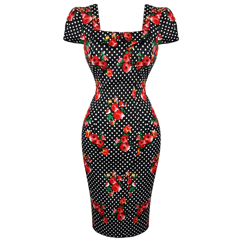 Voodoo Vixen Beverly Pencil Dress