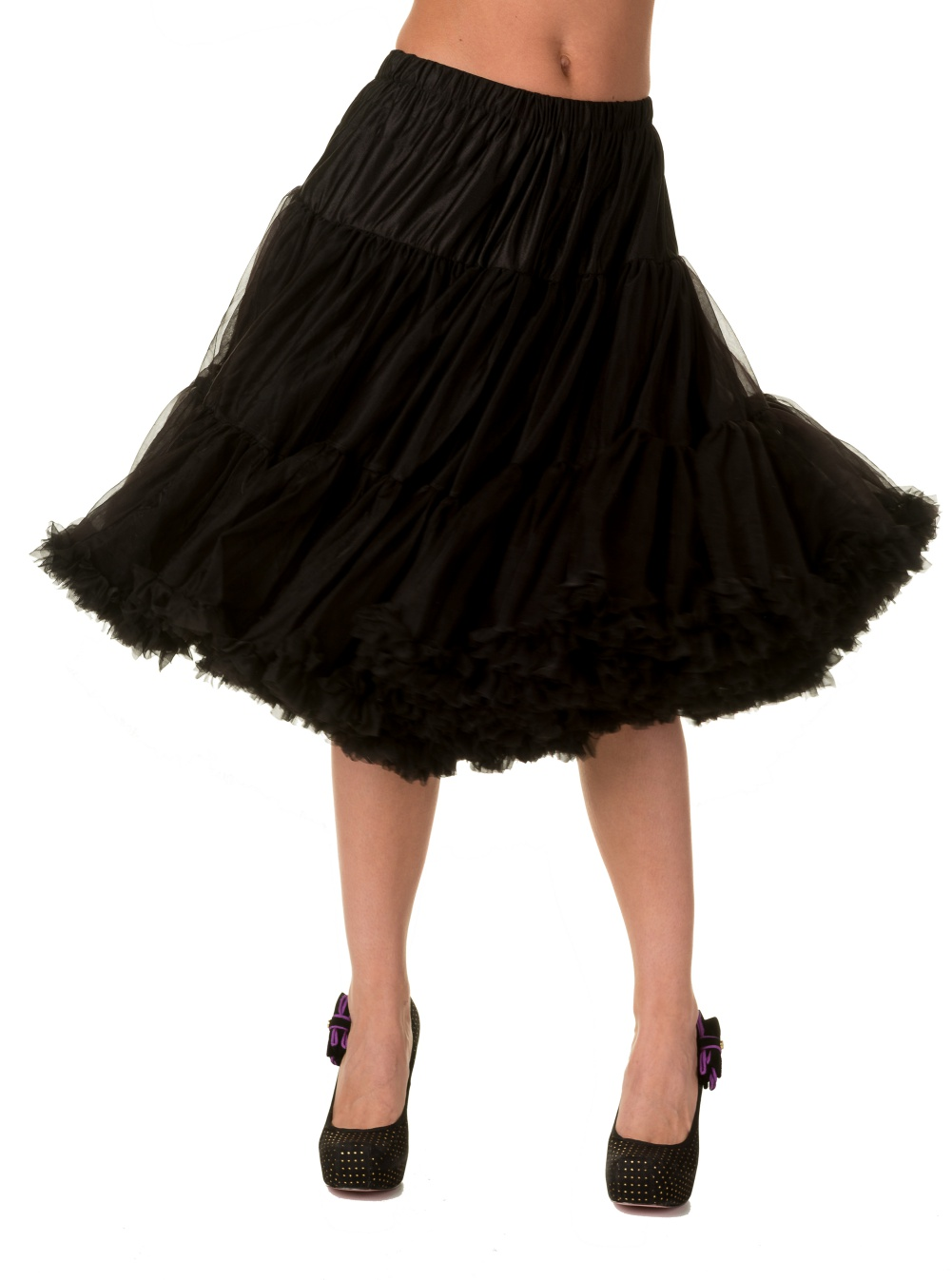 Banned Retro 50s Lizzy Lifeforms Black Petticoat