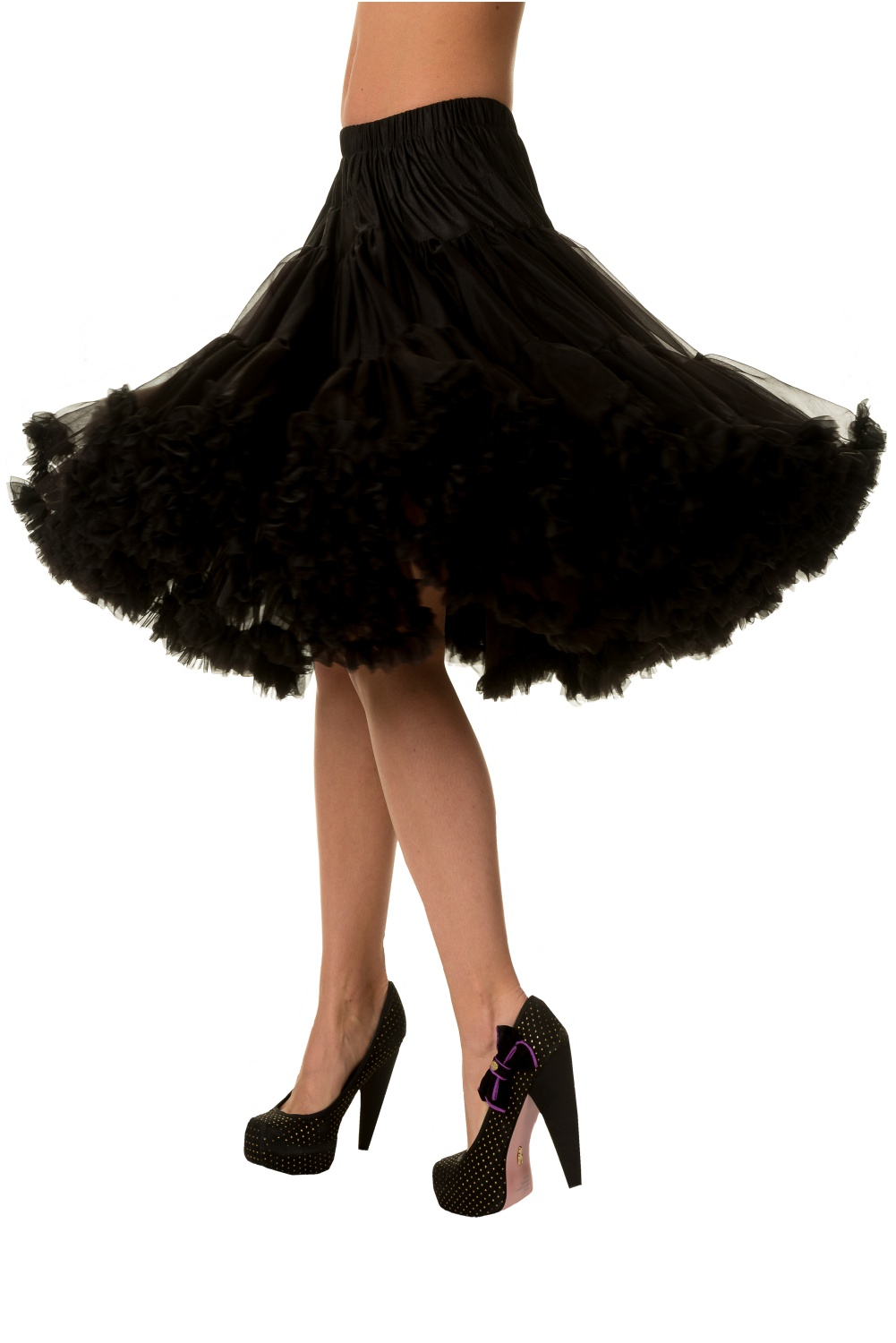 Banned Black Lifeforms 26 Inch Jive Petticoat