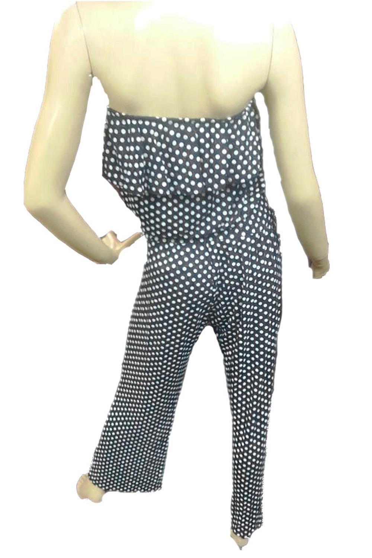 Panache Boutique Black Strapless Hannah Jumpsuit